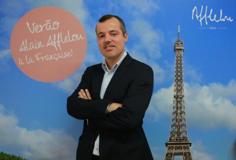 2745dcdc0f994 Wilson Gaspar, country manager da Alain Afflelou em Portugal, durante a  inauguração da nova sede do Grupo em Lisboa.